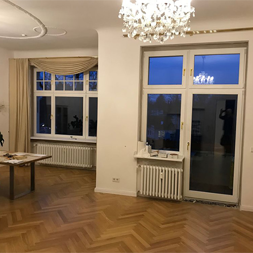 Altbau neue Fenster Krokos Berlin