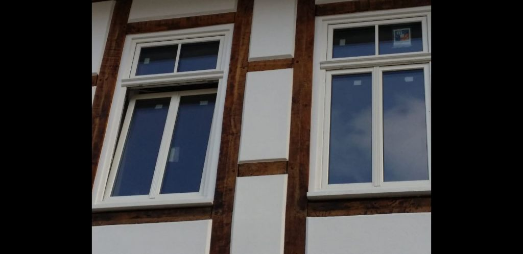 Fachwerk Fenster Fenster Krokos Berlin