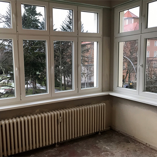 Fenster mit Oberlichtern Fenster Krokos Berlin