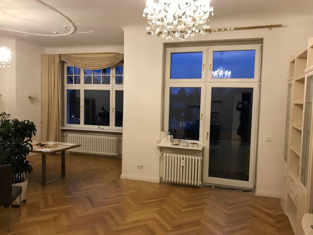 Wohnraum Altbau neue Fenster Fenster Krokos Berlin