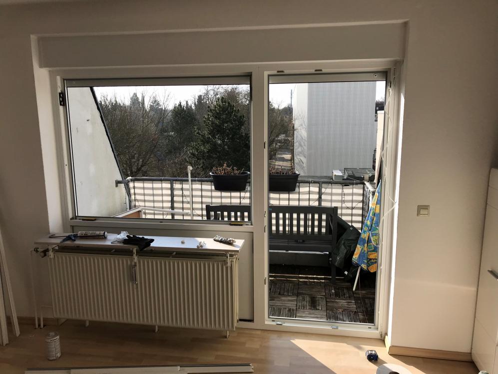 Balkonfenster und Tür Fenster Krokos Berlin